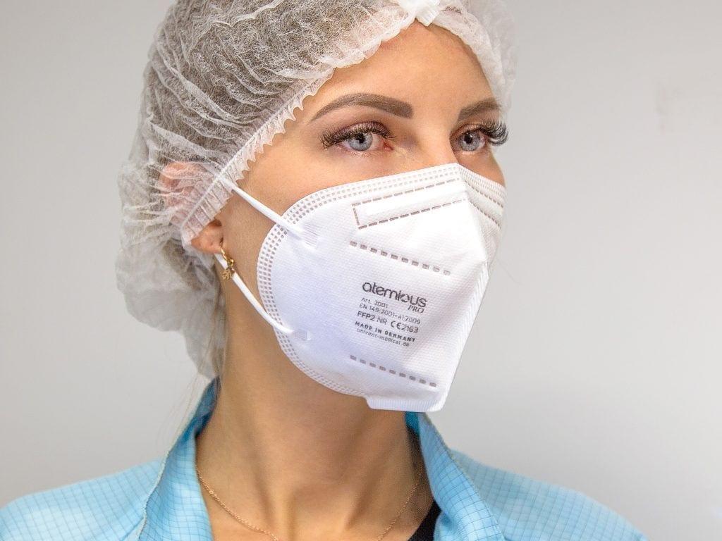 atemious pro ffp2 maske comfort Vlies