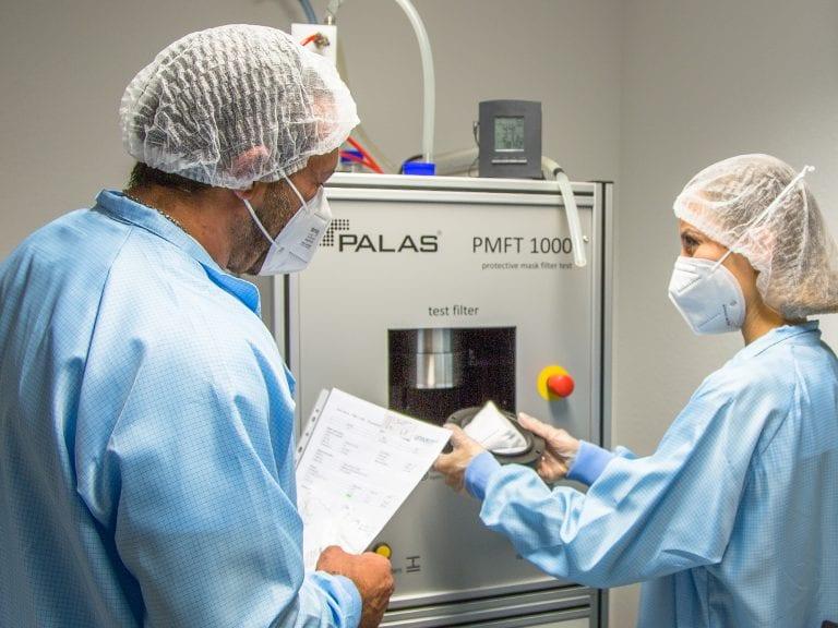 univent medical ffp2 masken produktion unilab