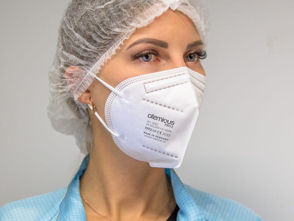 atemious pro2 ffp2 maske comfort Vlies