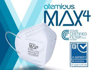 atemious max4 ffp2 maske